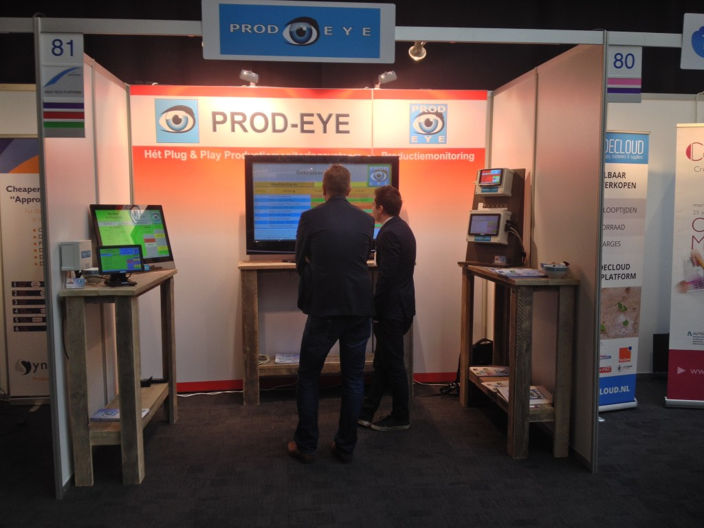 Stand PROD-EYE op Business Software Event 2015